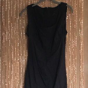 Express Black Sleeveless Dress 9/10